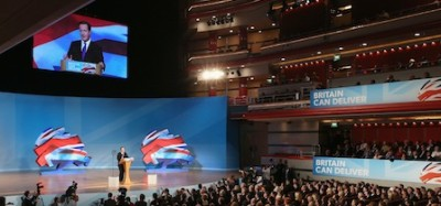 A Political conference has all the business opportunities of a commercial conference or exhibition