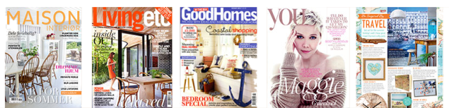 SurfaceView has been featured in a number of lifestyle magazines like Maison Interior, Living Etc, Good Homes, You & Craft